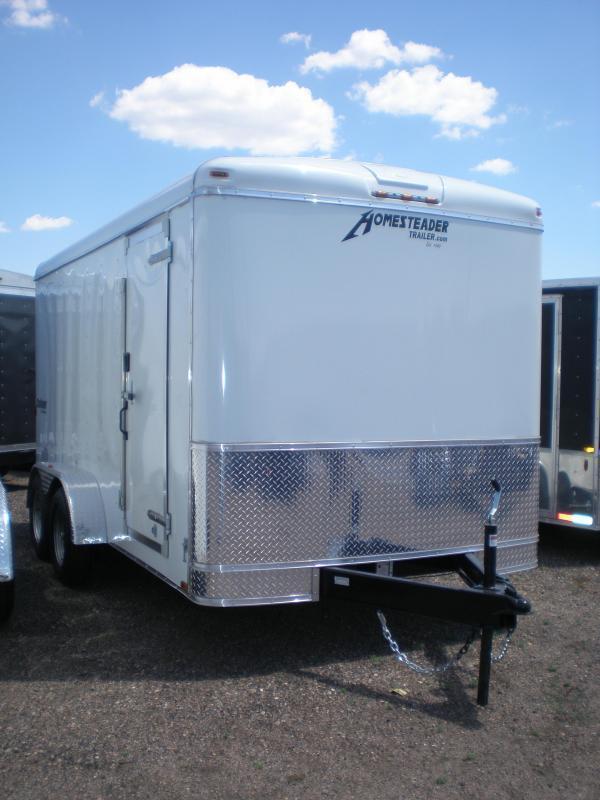 2020 Homesteader 7x14 Enclosed Cargo Trailer w/Ramp