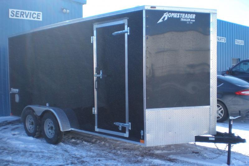 2019 Homesteader 716IT Intrepid Enclosed Cargo Trailer