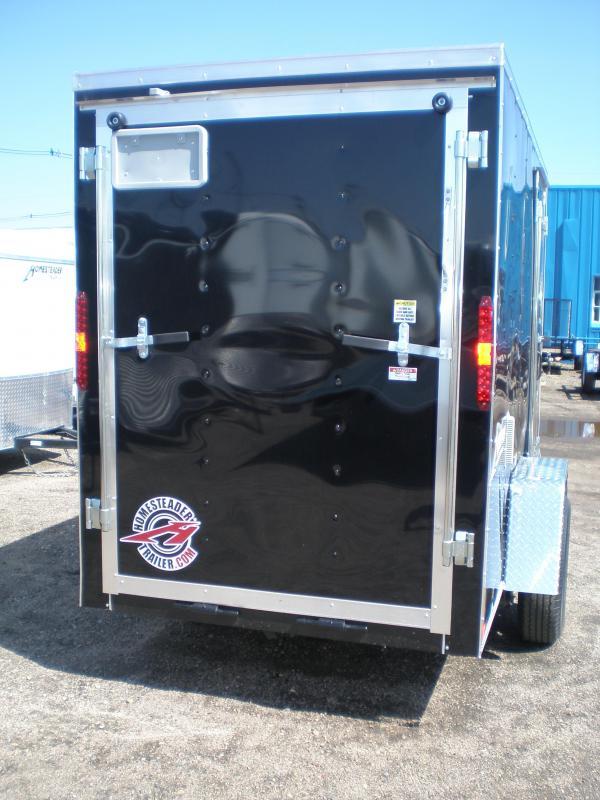 2019 Homesteader 5x10 Enclosed Cargo Trailer - V Nose