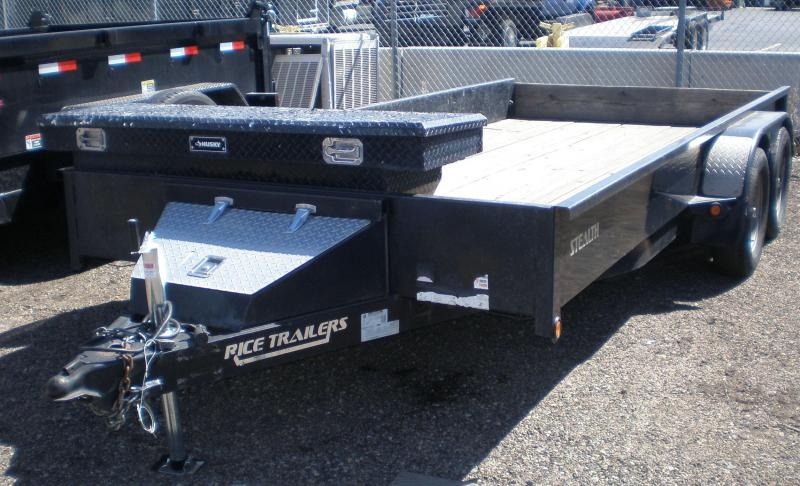"2014 Rice 82x16 ""Stealth"" Model Utility Trailer"