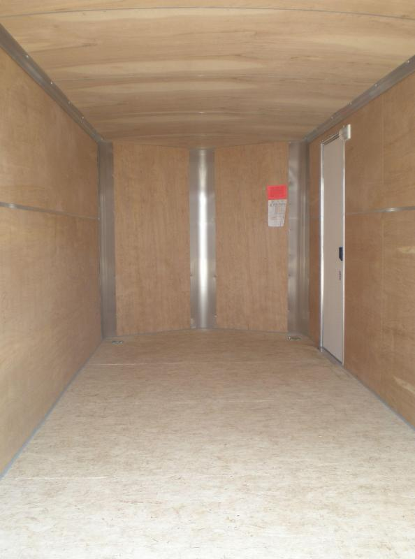 2017 H and H 7X16 Enclosed Cargo Trailer V-Nose