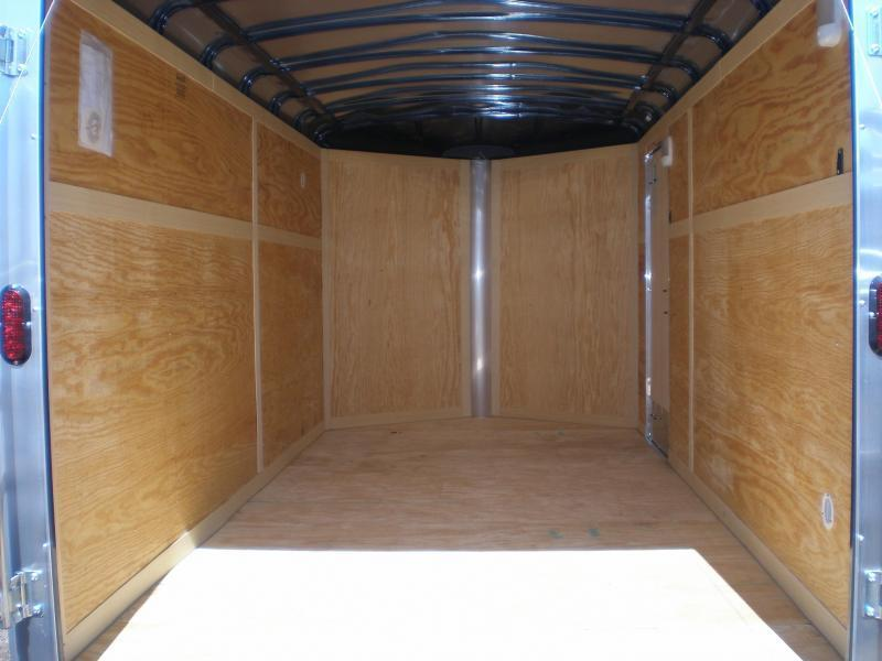 2019 Homesteader 7x14 Enclosed Cargo V Nose Trailer w/Ramp