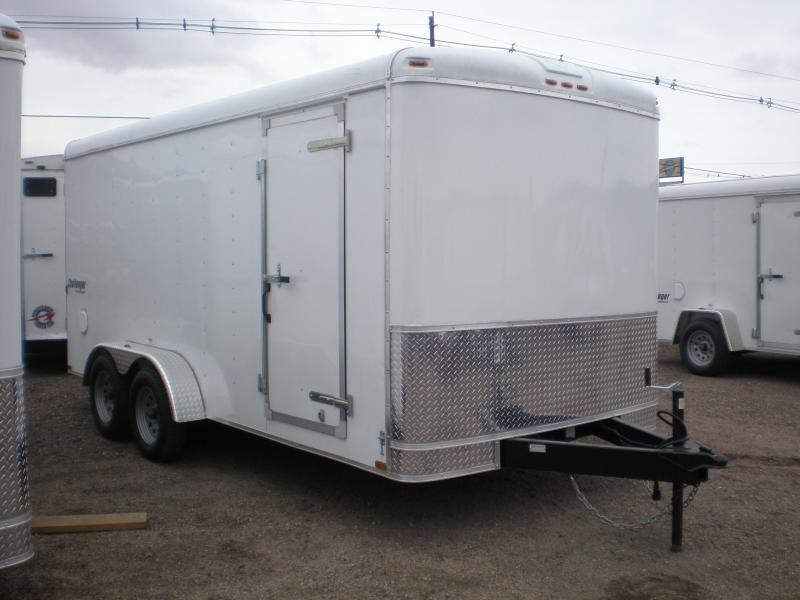 2018 Homesteader 7x16 Enclosed Cargo Trailer