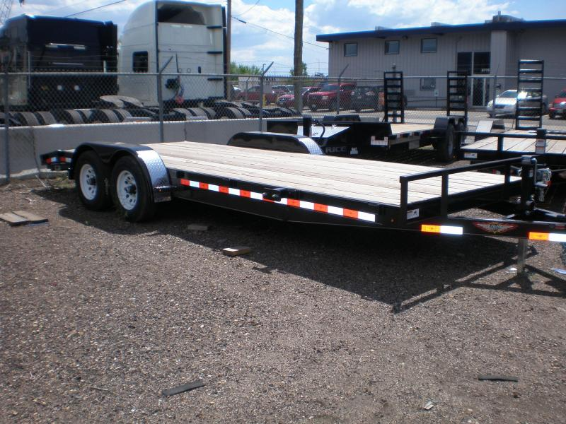 2019 H&H 83x18 Car Hauler 10K Car / Racing Trailer