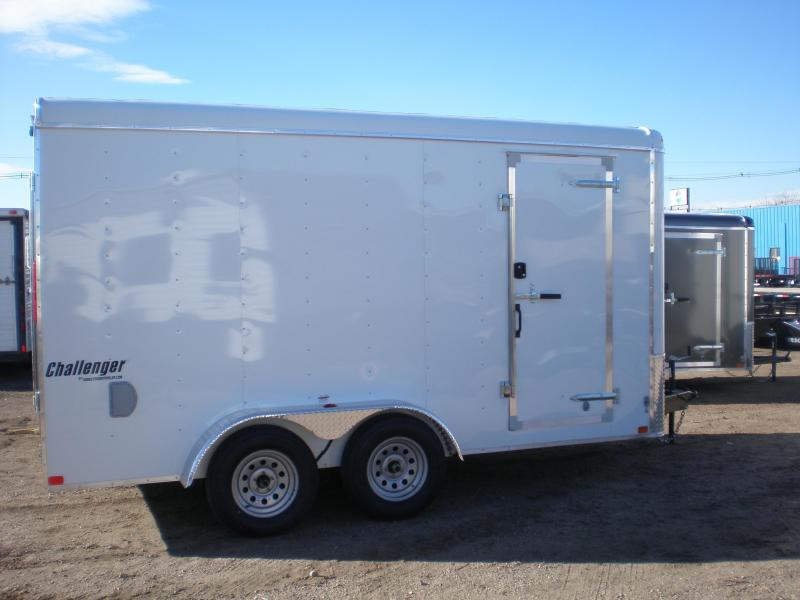 2019 Homesteader 7x14 Enclosed Cargo Trailer w/Ramp & Extra Height