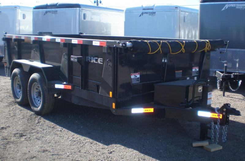 2019 Rice 82x14 HD Dump Trailer