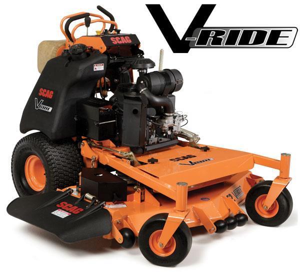 2017 Scag Power Equipment V - Ride 52 Mower