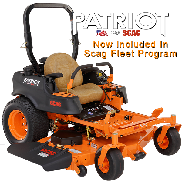 Scag Power Equipment Patriot 52 Zero Turn