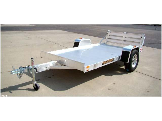 """Aluma 63"""" x 10' Heavy Axle Aluminum Trailer"""