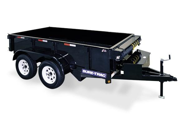 Sure-Trac 5 X 8 5K Low Profile Homeowner Dump Trailer