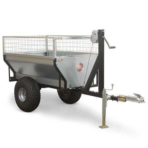 DR Power Yard Cart 1/2 Ton Versa-Trailer Pro Package