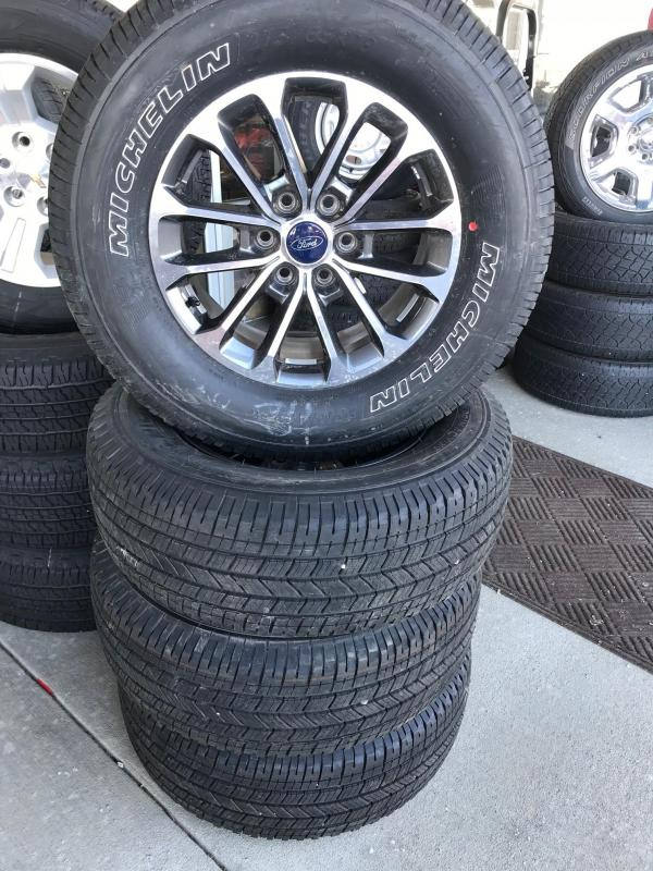 2018 Ford FX 4 Wheels and Tires