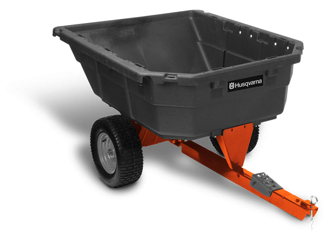 Husqvarna 12.5 CU FT Poly Dump Cart