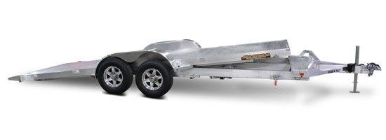 Aluma 82 x 18 Aluminum Tilting Trailer