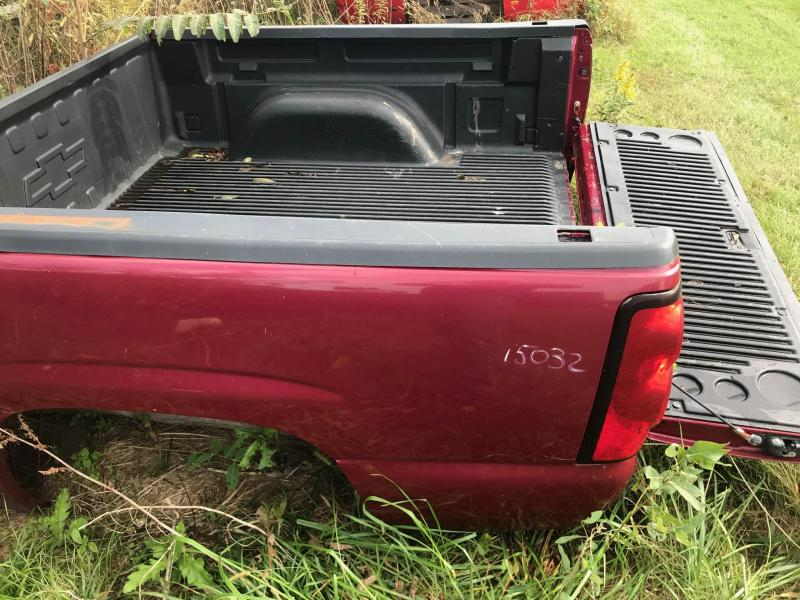 2007 -2013 Chevrolet 5.8 Takeoff Truck Bed (red)