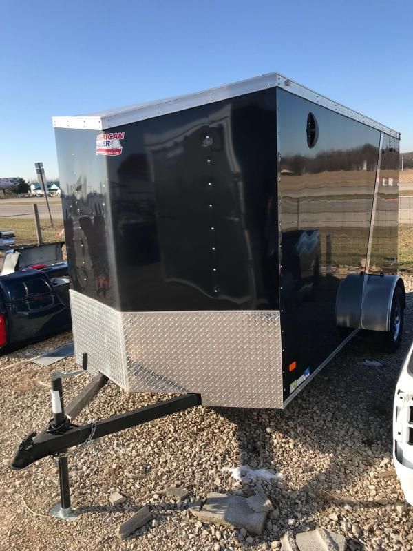American Hauler Industries NH612SA Enclosed Cargo Trailer with Crossbow Package