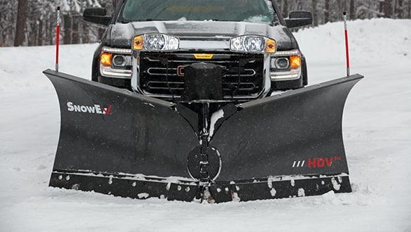 "Snow Ex HDV 8'6"" Snow Plow"