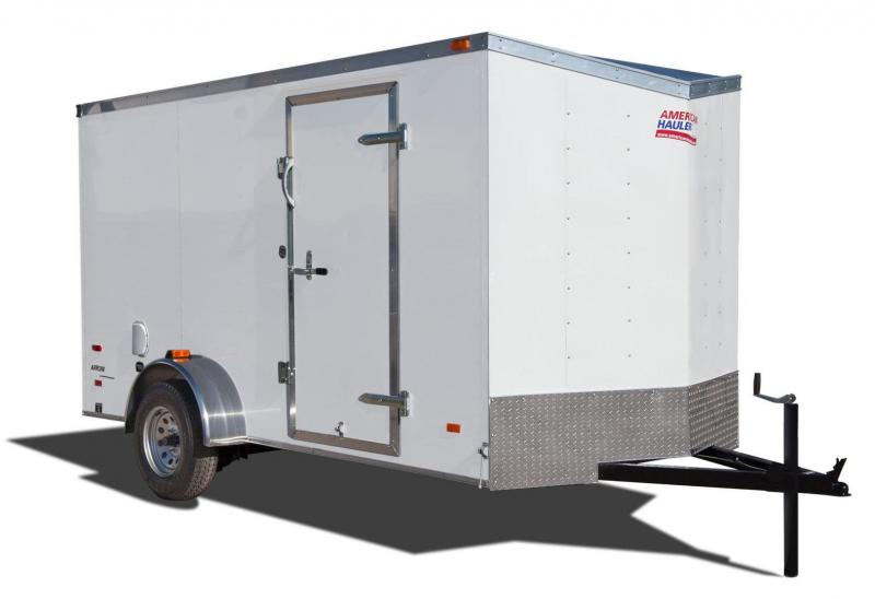 2017 American Hauler Industries AR612SA Enclosed Cargo Trailer with Upgrades