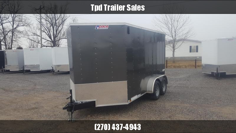 2019 Pace 7'X12' Enclosed Trailer