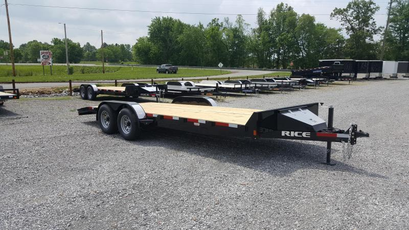 "2018 Rice 82""X20' Equipment Trailer"