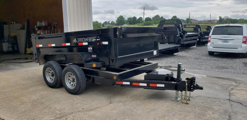 "2018 Iron Bull 72""X10' Dump Trailer in Commerce, MO"