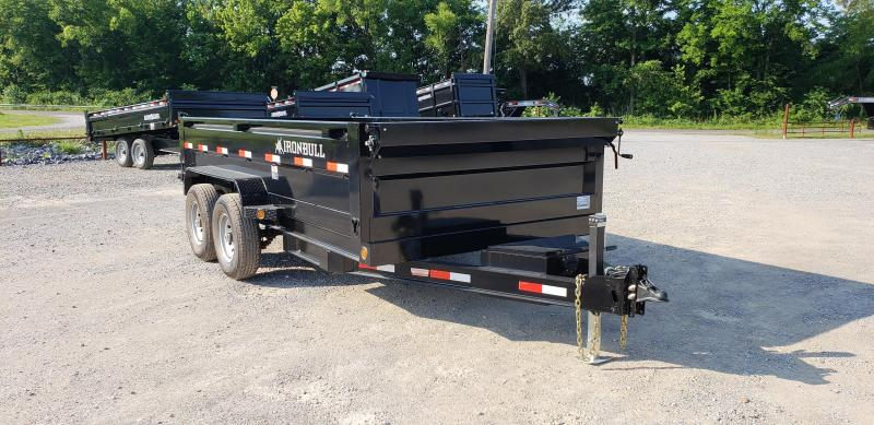 "2018 Iron Bull 83""X14' Dump Trailer in Brownwood, MO"