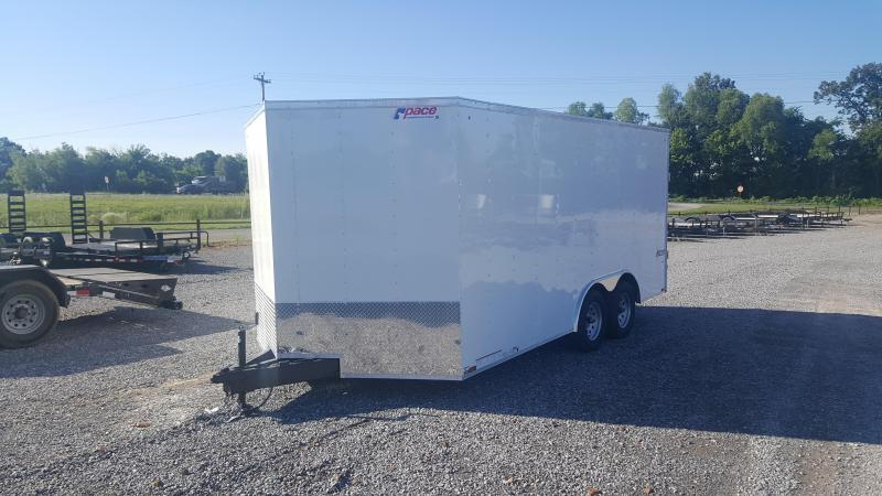 2018 Pace 8.5'X16' Enclosed Trailer