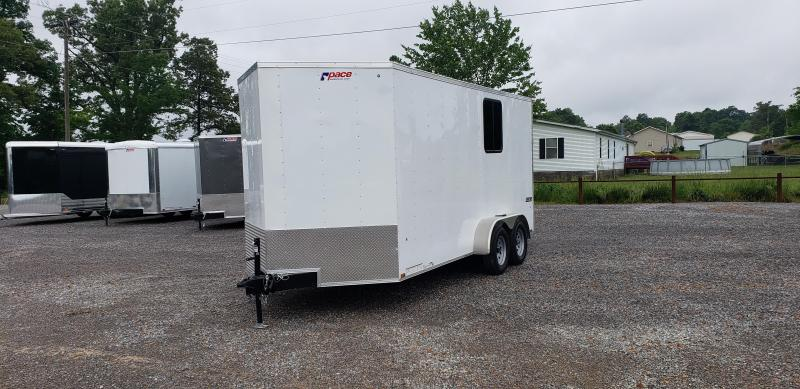 2019 Pace 7'X16' Enclosed Trailer