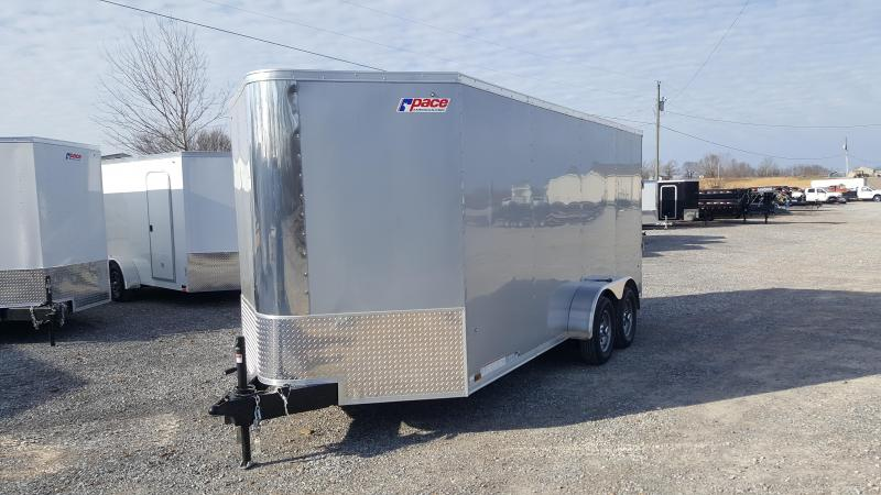 2018 Pace 7'X16' Enclosed Trailer