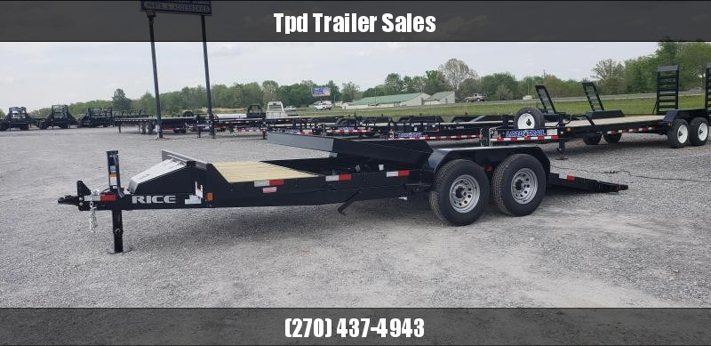 "2019 Rice 82""X20' Tilt Trailer in Ashburn, VA"