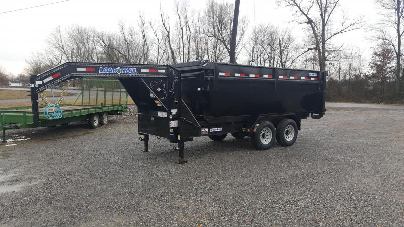 "2017 Load Trail 83""X14' Roll Off Dump Trailer"