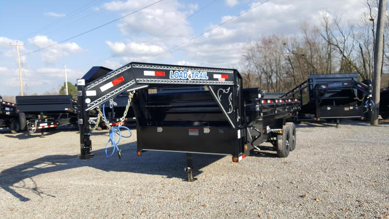 "2018 Load Trail 83""X16' Gooseneck Dump Trailer"