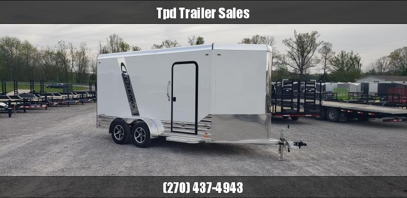2019 Legend 7'X17' Aluminum Enclosed Trailer