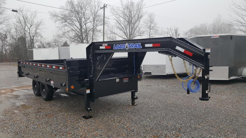 "2018 Load Trail 96""X16' Gooseneck Dump Trailer"