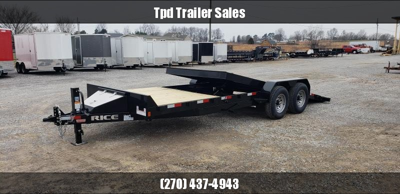 "2019 Rice 82""X22' Tilt Trailer in Ashburn, VA"