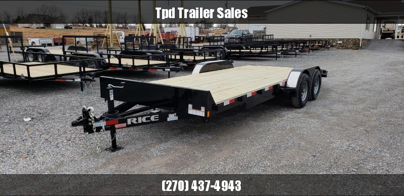 "2019 Rice 82""X20' Equipment Trailer in Ashburn, VA"
