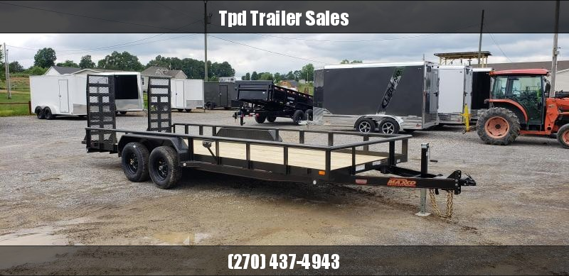 "2019 Maxxd 83""X20' Equipment Trailer"