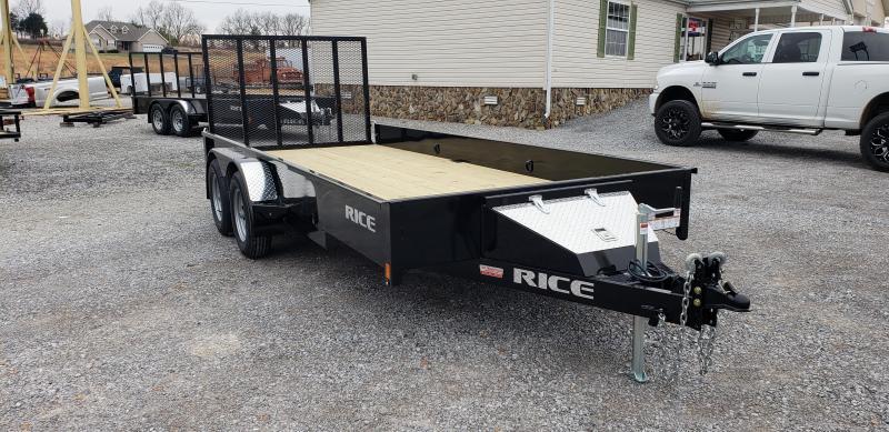 "2019 Rice 76""X16' Utility Trailer"