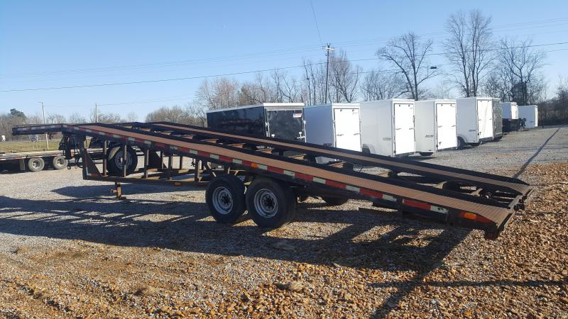 1999 Kaufman Wedge Car Trailer
