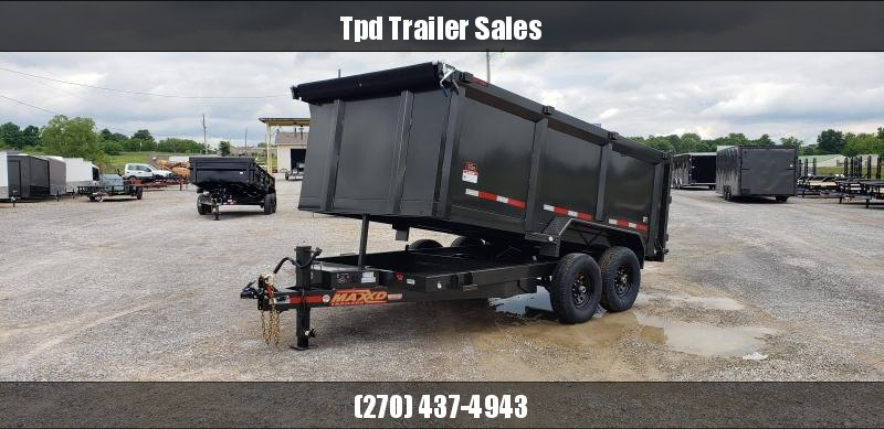 "2019 Maxxd 83""X14' Dump Trailer in Ashburn, VA"