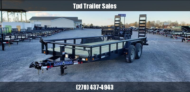 "2019 Load Trail 83""X18' Equipment Trailer"