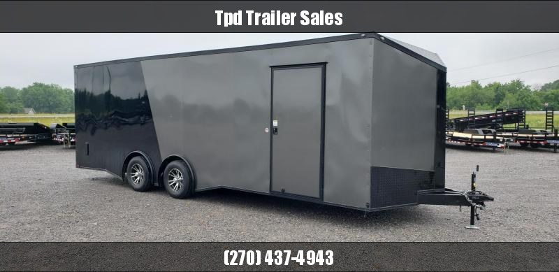 2019 Spartan 8.5'X24' Blackout Enclosed Trailer