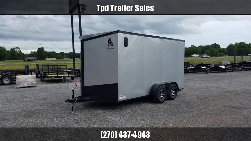 2020 Spartan 7'X14' Blackout Enclosed Trailer