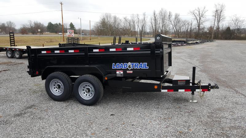 "2018 Load Trail 72""X12' Dump Trailer"