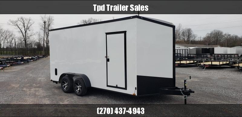 2020 Spartan 7'X16' Blackout Enclosed Trailer in Ashburn, VA