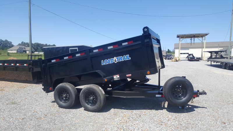 2018 load trail 83 u0026quot x12 u0026 39  dump trailer