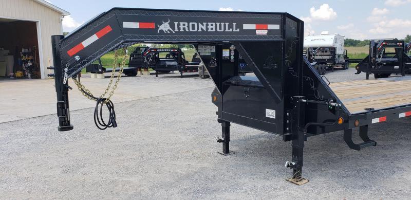"2018 Iron Bull 102""X30' Gooseneck Trailer"