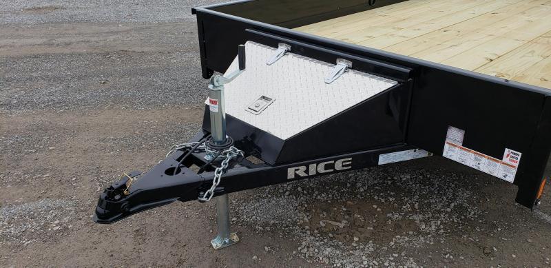 "2020 Rice 76""X12' Utility Trailer"
