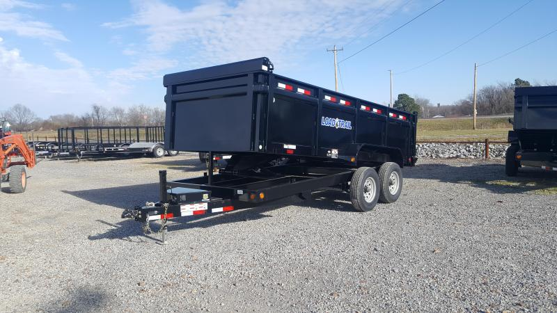 "2018 Load Trail 83""X16' Dump Trailer"