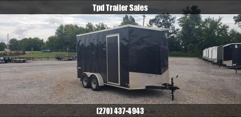 2016 Look Trailers 7'X14' Enclosed Trailer